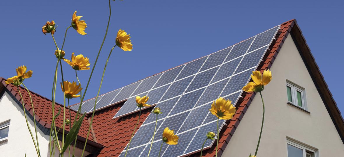 Warmwasser aus der Energie der Sonne. Kosten einsparen.